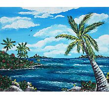 Caribbean Shore Photographic Print