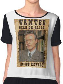 Buffy Giles Wanted 1 Chiffon Top