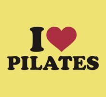 I love Pilates Kids Tee