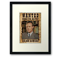 Buffy Giles Wanted 1 Framed Print