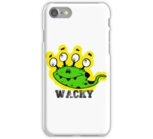 Wacky Alien by Jeronimo Rubio 2016 iPhone Case/Skin