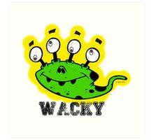 Wacky Alien by Jeronimo Rubio 2016 Art Print