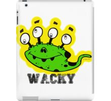 Wacky Alien by Jeronimo Rubio 2016 iPad Case/Skin