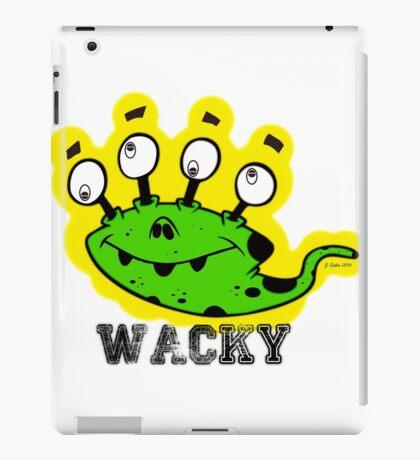 Wacky Alien by Jeronimo Rubio 2016 iPad Case/Skin
