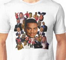 Carlton collage Unisex T-Shirt