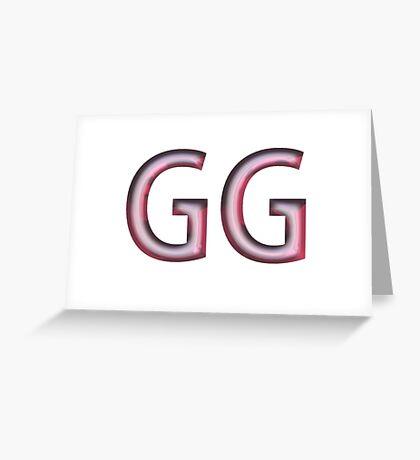 GG-Bra Greeting Card