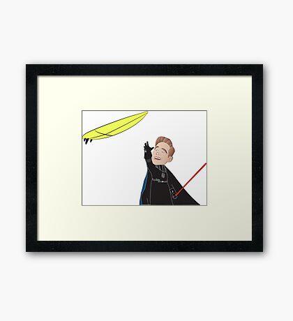 Teacher Bobblehead Framed Print