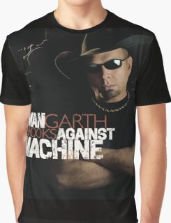 Garth Brooks Man Against Machine Graphic T-Shirt