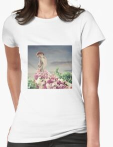 Invading Spring Womens Fitted T-Shirt