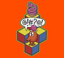 Qbert Video Game by chachi-mofo
