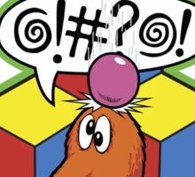 Qbert Video Game Sticker
