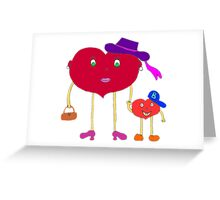 heart and son Greeting Card