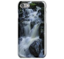 Rushing waterfall - Milford Sound iPhone Case/Skin