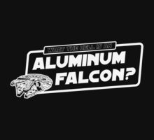 Aluminum Falcon by chachi-mofo