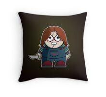 Mini Chucky Throw Pillow