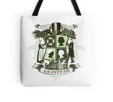 Grantham coat of arms (green) Tote Bag