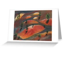 Painted Dunes Greeting Card