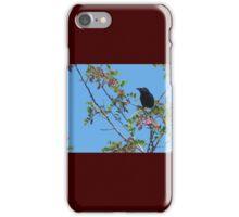 Bird in a Bush iPhone Case/Skin