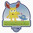 Moose A. Moose & Zee by chachi-mofo