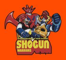 Shogun Warriors - Mazinga, Raideen, Gaiking by chachi-mofo