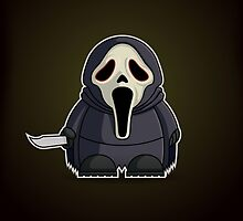 Mini Ghostface by Adam Miconi