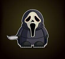 Mini Ghostface by Adam Miconi