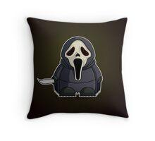 Mini Ghostface Throw Pillow