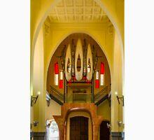 The organ in the Santuario de Santa María Magdalena Unisex T-Shirt