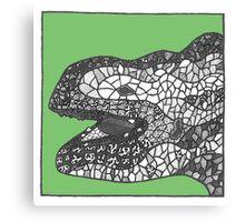 Gaudi sculpture Canvas Print