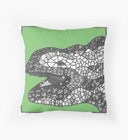 Gaudi sculpture Throw Pillow