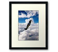 Spitfire Dance Framed Print