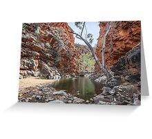 Serpentine Gorge Greeting Card