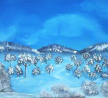Winter Hills by Anastasiya Malakhova