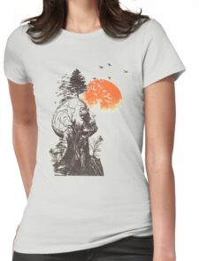 Treehead Womens Fitted T-Shirt