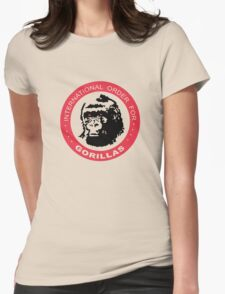 International Order For Gorillas Womens Fitted T-Shirt