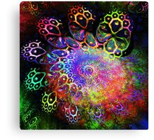 Rainbow Leopard Canvas Print