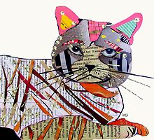 whiskers the cat  by bri-b