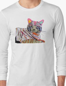 whiskers the cat  Long Sleeve T-Shirt