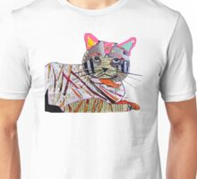 whiskers the cat  Unisex T-Shirt