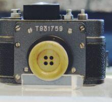 Stasi spy photo camera Sticker