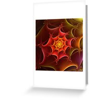 Dragon Scale Greeting Card