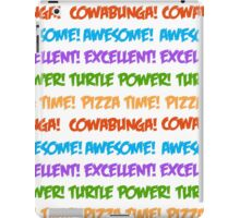 Turtle Power! iPad Case/Skin