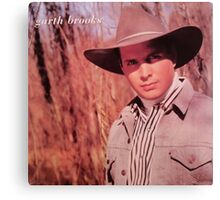 VINTAGE GARTH BROOKS 1 Canvas Print