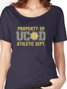 Property of UCSD Athletic Dept. Women's Relaxed Fit T-Shirt
