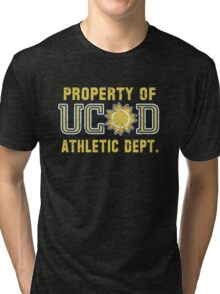 Property of UCSD Athletic Dept. Tri-blend T-Shirt