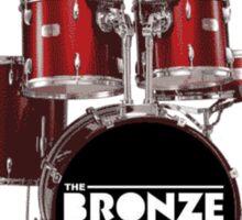 Buffy The Bronze Sunnydale Drums  Sticker