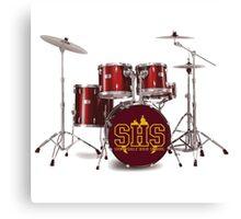 Buffy SHS Sunnydale High School Drums Canvas Print
