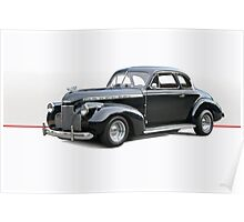 1940 Chevrolet Special Deluxe Coupe 2 Poster