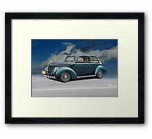1938 Ford Tudor Sedan Framed Print