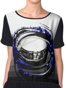 Music - Drum Chiffon Top